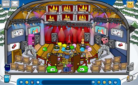fiesta de puffles 2